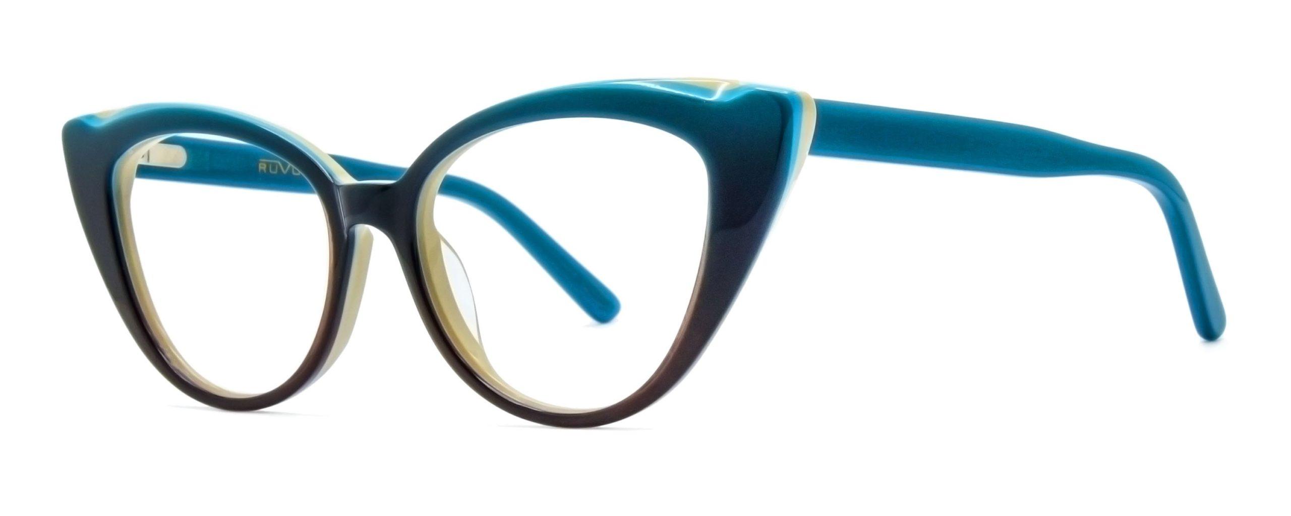 Lydia - Blue Fade - Angle